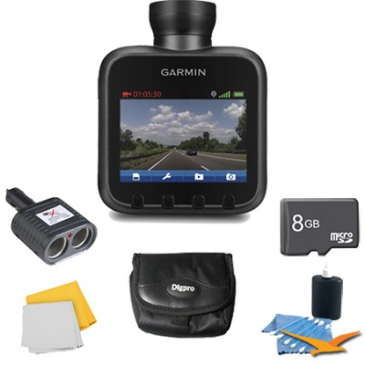 Dash Cam 10 Standalone HD Driving Recorder Plus Deluxe 8GB Accessory Bundle