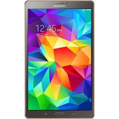 Galaxy Tab S 8.4` Tablet - (16GB, WiFi, Titanium Bronze) - OPEN BOX