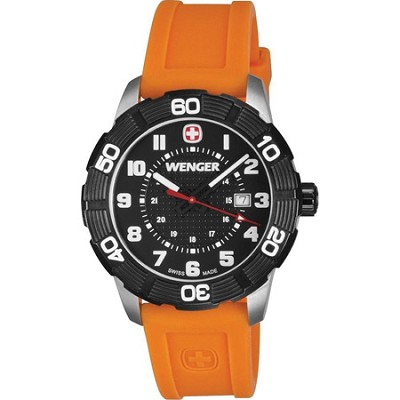 Men's Roadster Sport Watch - Orange/Black