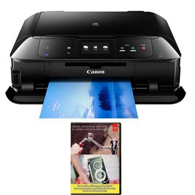MG7520 Wireless Color All-in-One Inkjet Printer + Adobe Photoshop Elements 12