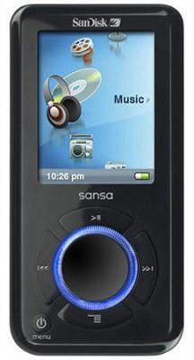 Sansa e260 4GB MP3 Player - Black