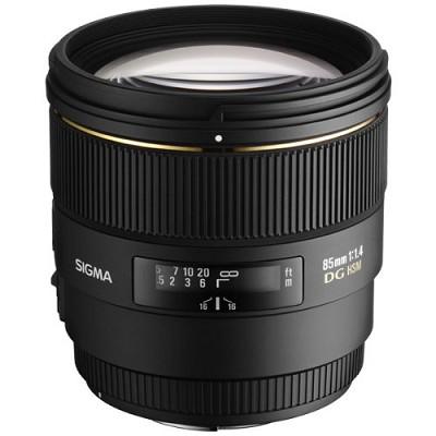 85mm F1.4 EX DG HSM Lens for Canon EOS - OPEN BOX