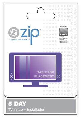 Tabletop TV Setup & Installation