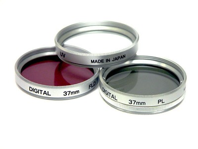 25mm UV, Polarizer & FLD Deluxe Filter kit (set of 3 + carrying case)