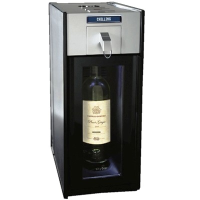 1 Bottle Wine Chilling, Pouring, and Preserving System