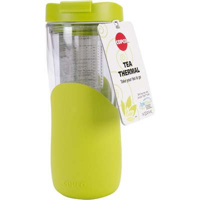 14-Ounce Tea Thermal Travel Mug, Green