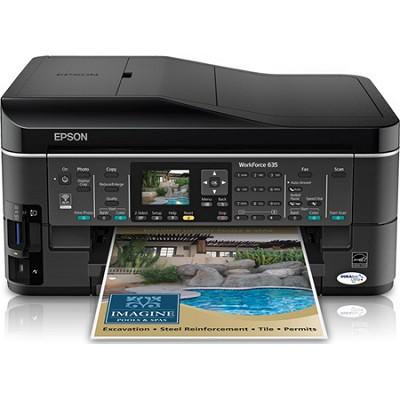 WorkForce 635 Inkjet All-in-One Wi-Fi Printer - C11CA69201