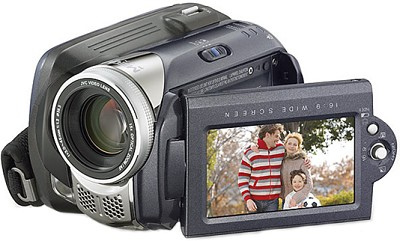 GZ-MG57 Everio Digital Media Camera with 30GB Hard Drive / 15x Optical Zoom