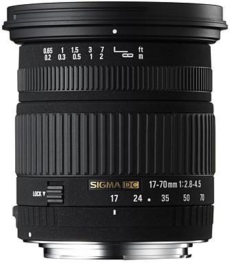 Super Wide Angle Zoom  HSM 17-70mm f/2.8-4.5 DC Macro Autofocus Lens for Nikon