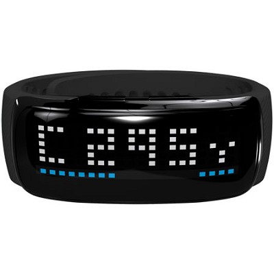 BB5 Golf GPS LED Band, Black/Silver