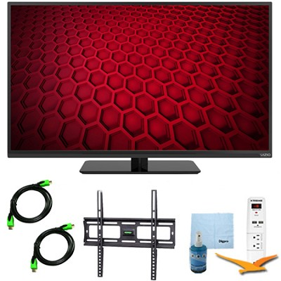 E390-B - 39-Inch LED HDTV 1080p 60Hz Plus Mount & Hook-Up Bundle