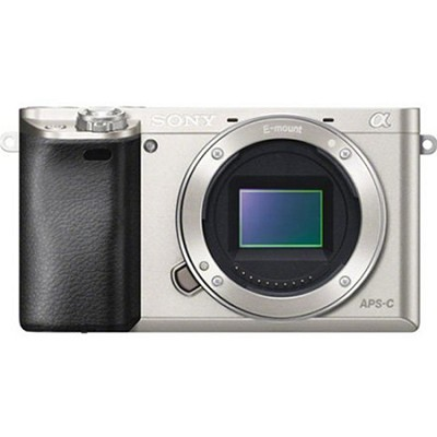 Alpha a6000 24.3MP Silver Interchangeable Lens Camera - Body Only