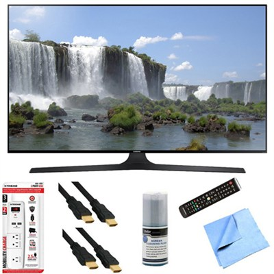 UN55J6300A - 55-Inch Full HD 1080p 120hz Slim Smart LED HDTV Plus Hook-Up Bundle