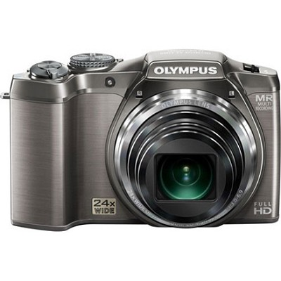 SZ-31MR iHS 16MP 24X Opt Zoom 3 in LCD Camera - Silver