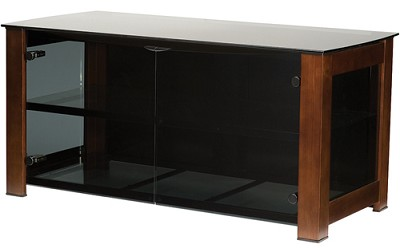 DFV49M - Designer Series 3 Shelf A/V Cabinet for TVs up to 50` (Mocha Finish)
