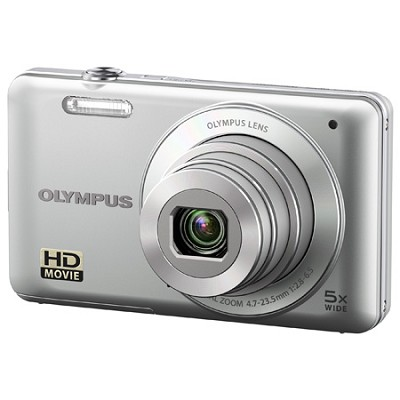 VG-120 14MP 5x Opt Zoom 3-inch LCD Digital Camera - Silver