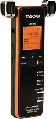 DR-08 Portable Digital Audio Recorder