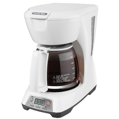 Programmable 12-Cup Coffeemaker - White