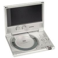 D-1710  Ultra Slim Portable 7` DVD Player