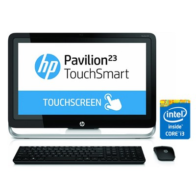 Pavilion TouchSmart 23` HD 23-h070 All-In-One PC - Intel Core i3-4130T Processor