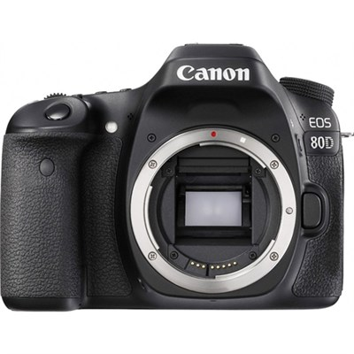 EOS 80D 24.2 MP CMOS Digital SLR Camera (Body)