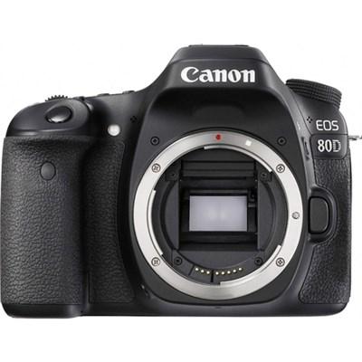 EOS 80D 24.2 MP CMOS Digital SLR Camera (Body)