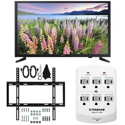 UN32J5003 - 32-Inch  Full HD 1080p LED HDTV Slim Flat Wall Mount Bundle