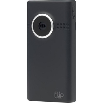 MinoHD Video Camera - 2 Hours (8GB) Black-