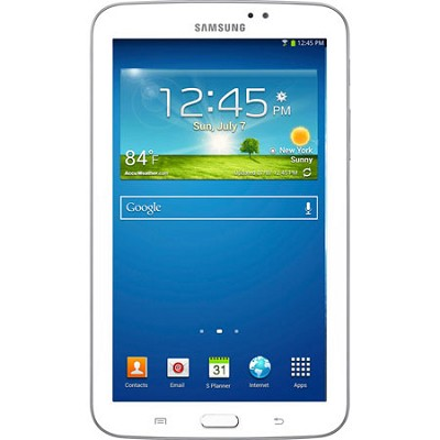 Galaxy Tab 3 Tablet (7-inch, White) - OPEN BOX