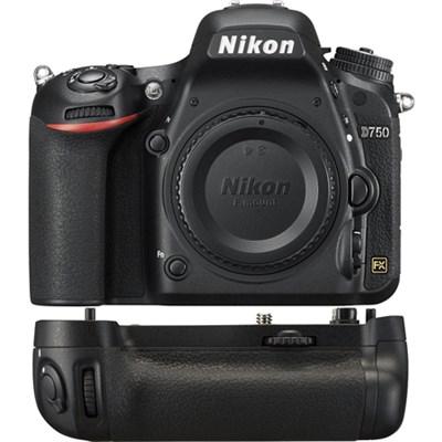 D750 DSLR 24.3MP HD 1080p FX-Format Digital Camera Power Pack Bundle