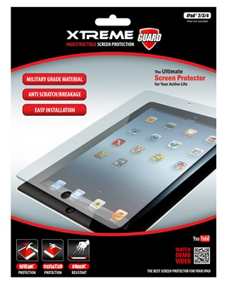 Indestructible Impact Proof Screen Protector for Ipad 2, 3, and 4