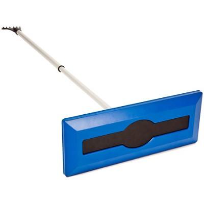 SJBLZD Telescoping Snow Broom with Ice Scraper