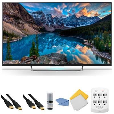 KDL-50W800C - 50-Inch 120Hz 3D Android Smart LED HDTV + Hookup Kit
