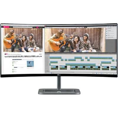 34UC87-C IPS 21:9 34` 3440X1440 Curved UltraWide QHD LED-Lit Monitor - OPEN BOX