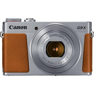 PowerShot G9 X Mark II 1` 20.1MP 4x Zoom Digital Camera, Wifi, Silver