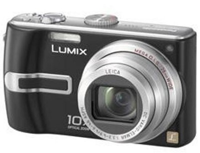 DMC-TZ3K Lumix 7.2 mega-pixel Digital Camera (Refurbished)
