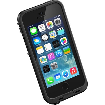 Black iPhone 5S/5 Fre Case - Retail Packaing - (LP-2101-01)