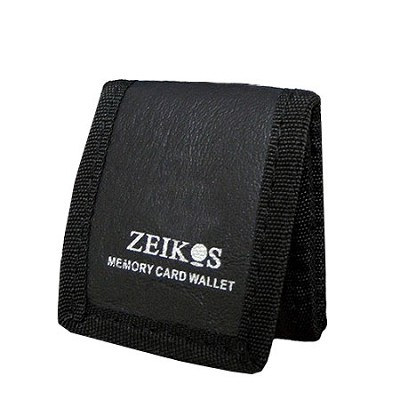 Tri-fold Memory Card Wallet - Stores up to 3 Memory Cards