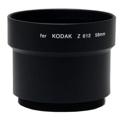 58mm Lens Barrel Adapter For Kodak Z612 / Z712 / Z812