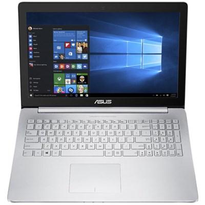 ZenBook Pro IPS Intel Quad Core i7-6700HQ 15.6` Touchscreen Laptop, Silver