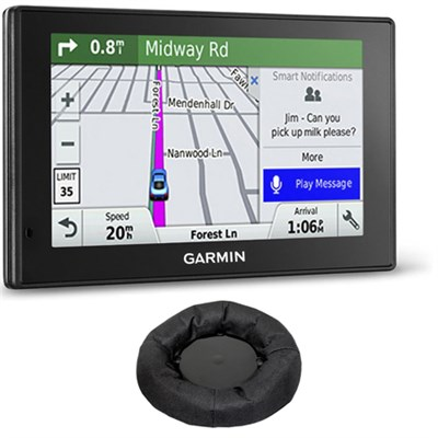 010-01539-01 DriveSmart 50LMT GPS Navigator Friction Mount Bundle