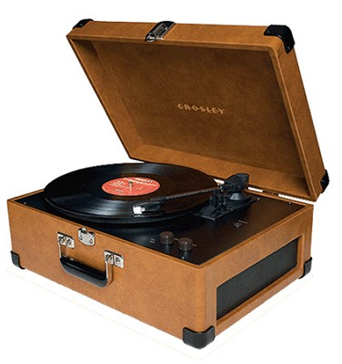 Keepsake USB Turntable - CR249-TA (Tan)