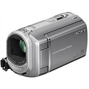 4GB Flash Memory / Memory Stick Handycam Camcorder (Silver) - OPEN BOX