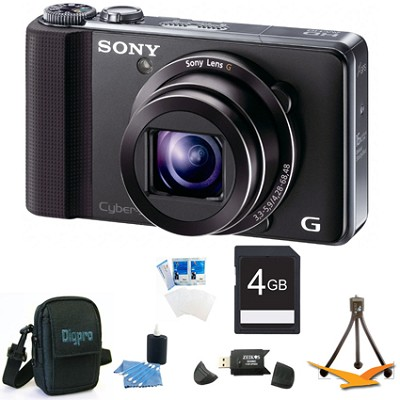 Cyber-shot DSC-HX9V Digital Camera 4GB Bundle