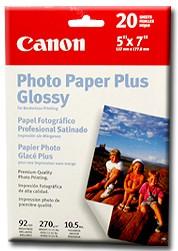 Pro Photo Paper Borderless 5` X 7` - 20 Sheets