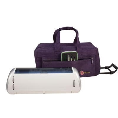 E-Tote Rolling Trolley in Purple - 700-481