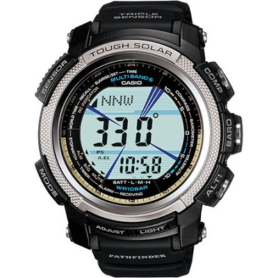 PAW2000-1V Pathfinder Solar Atomic Triple Sensor Sports Watch