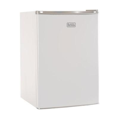 Compact Refrigerator Energy Star Single Door Mini Fridge with Freezer - BCRK25W