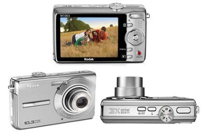 EasyShare M1063 10.3 MP Digital Camera (Silver)
