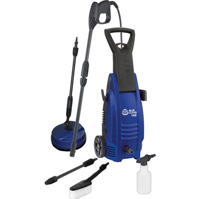 AR142-P 1600 PSI Cold Water Electric Pressure Washer with Accessories